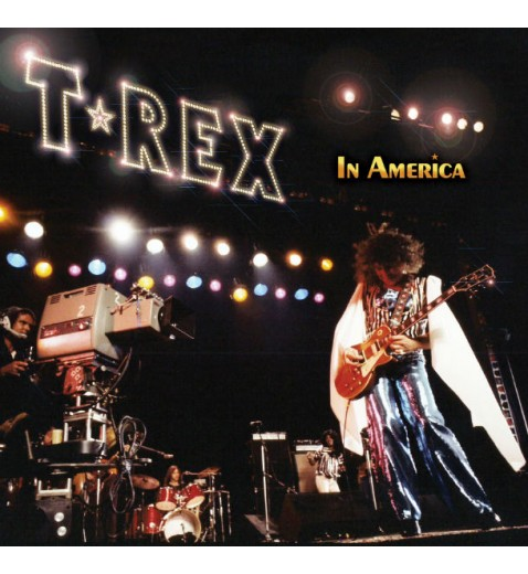 T.Rex       In America      Ltd Edition Collectors Yellow  Vinyl       Last Few copies of the coloured vinyl  issue